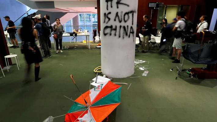 conflict-and-fight-in-hong-kong-makes-problems-in-multinational-companies