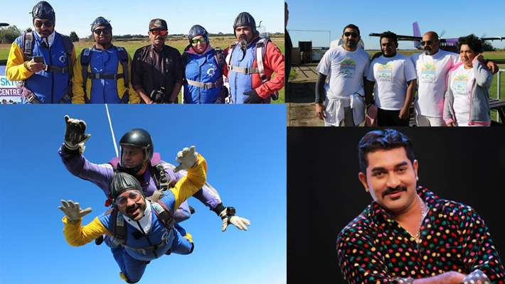 sky-diving-dileep-kalabhavan