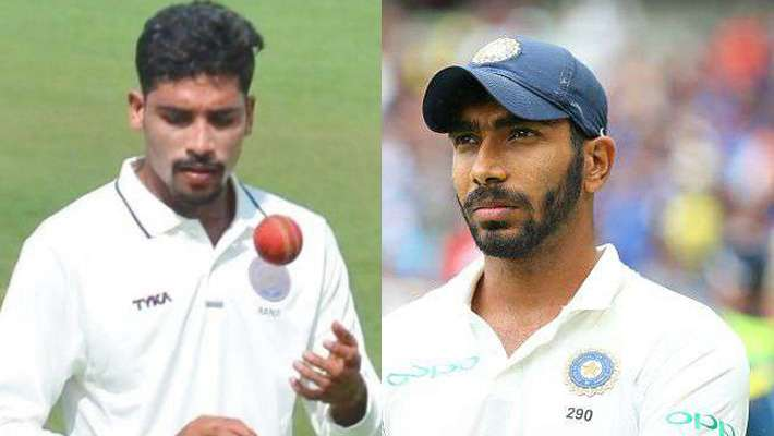 siraj-replaced-with-bumrah-for-one-day-match-and-new zealand-tour