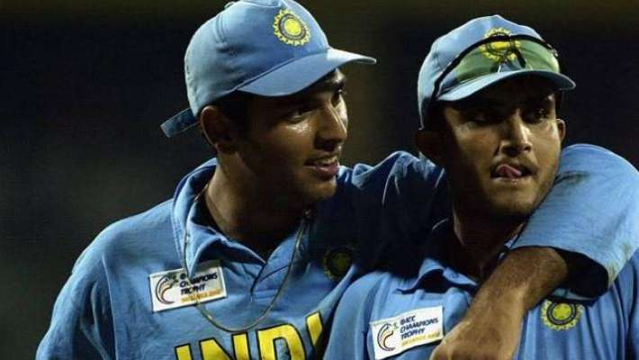 sourav ganguly and yuvraj