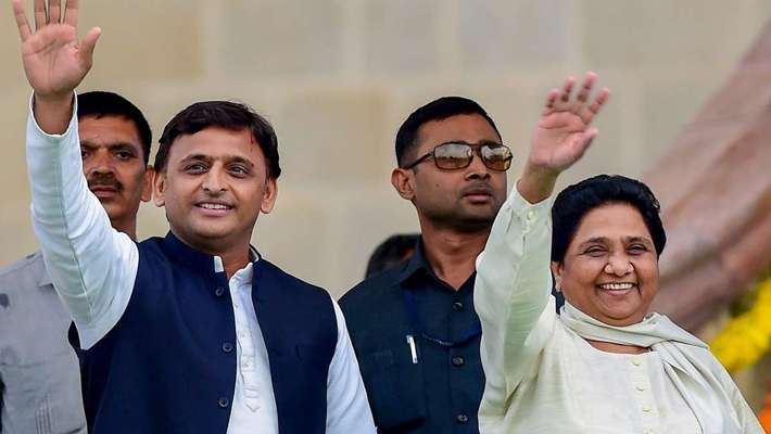 sp-bsp-declared-alliance-in-lok-sabha-election-in-uttar-pradesh