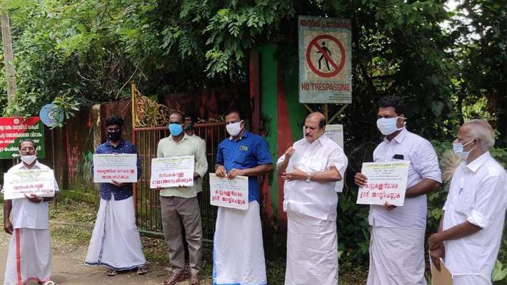 Protest, Kerala Forest